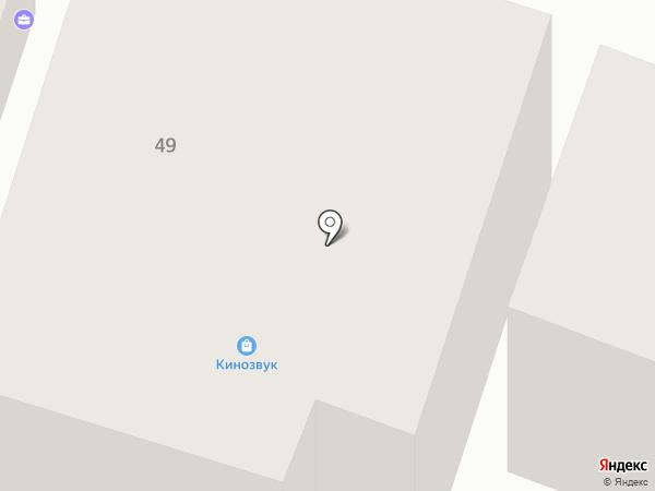 Екатеринославская на карте Днепропетровска