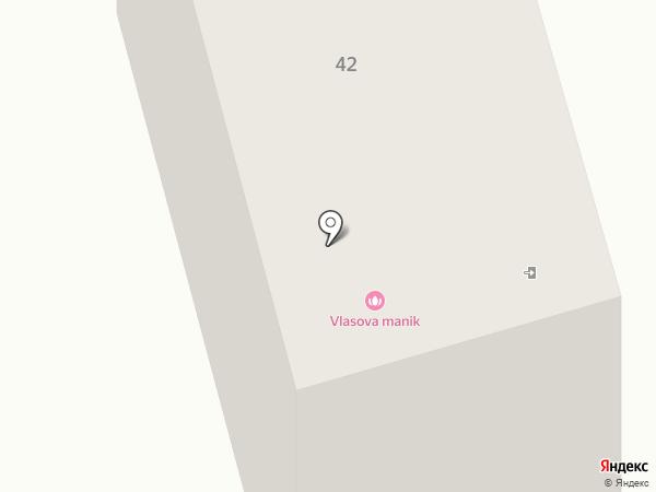 Ангел на карте Днепропетровска