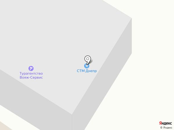 Партнер на карте Днепропетровска