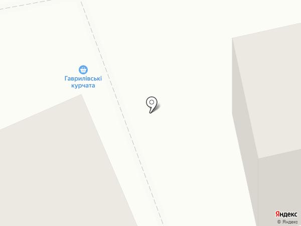Любава на карте Днепропетровска