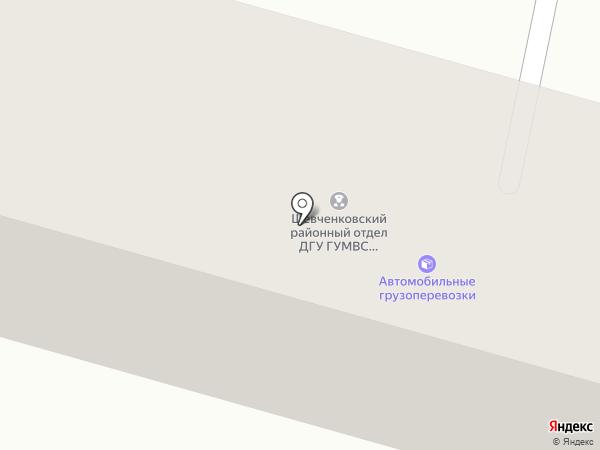 Бабушкінський районний відділ у м. Дніпропетровську ГУДМС України в Дніпропетровській області на карте Днепропетровска