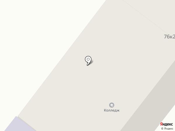 Технологічний коледж на карте Днепропетровска