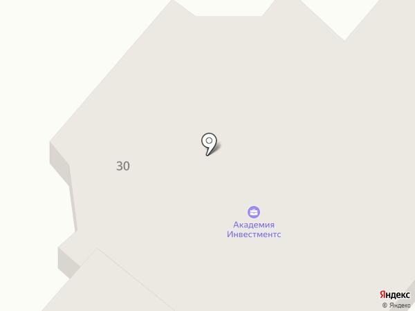 УкрСиббанк на карте Днепропетровска