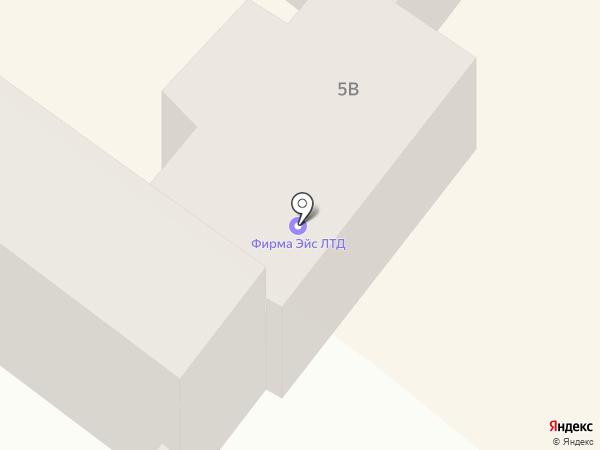 Эйс на карте Днепропетровска