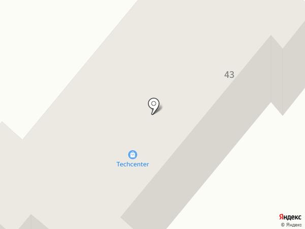 Techcenter на карте Днепропетровска