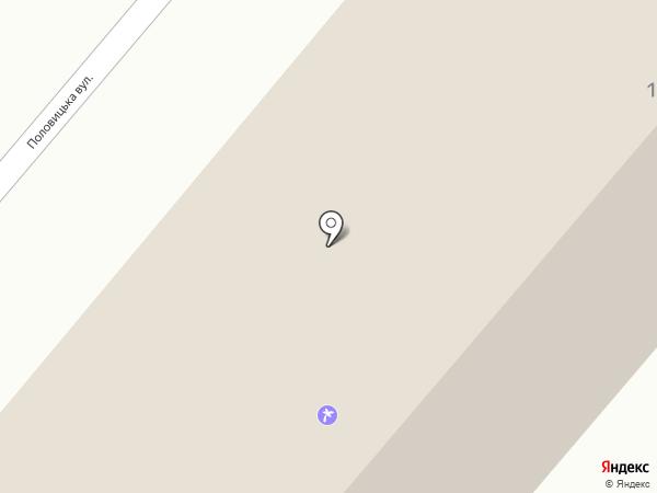 Поехали с нами! на карте Днепропетровска