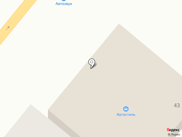 Автостиль на карте Днепропетровска