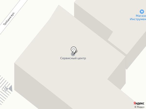 Деметра, ПТ на карте Днепропетровска
