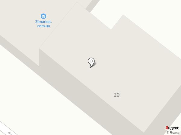 Автопилот на карте Днепропетровска