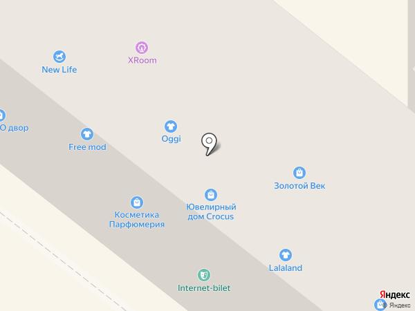 OGGI на карте Днепропетровска