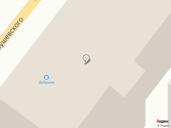 INTERIO на карте Днепропетровска