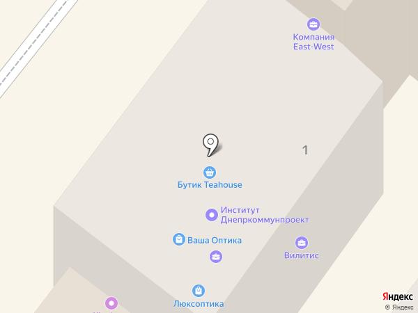 Экомир на карте Днепропетровска