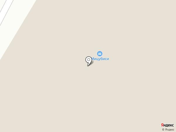 Mitsubishi Motors на карте Днепропетровска