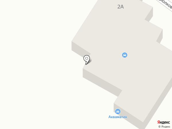 АКВАМАТИК на карте Днепропетровска