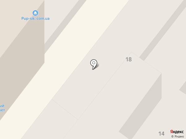 Коммунальник, КП на карте Днепропетровска
