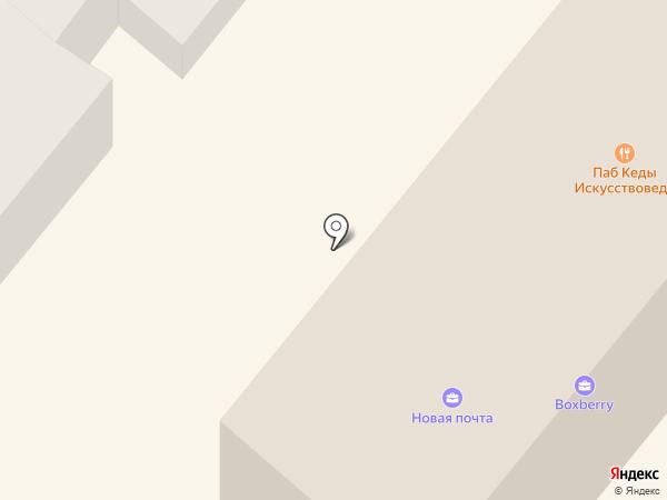 Днепропетровское Епархиальное управление Украинской Православной Церкви на карте Днепропетровска
