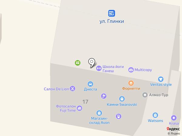 Шнейдер Электрик Украина на карте Днепропетровска