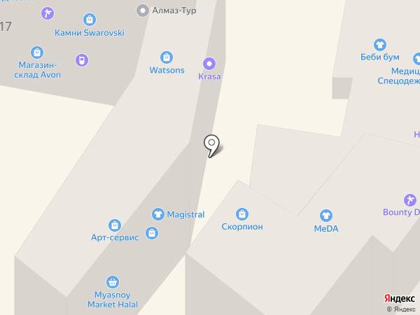 Праздник-шоп на карте Днепропетровска
