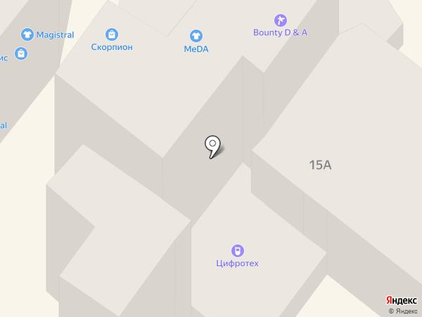 ЦИФРОТЕХ на карте Днепропетровска