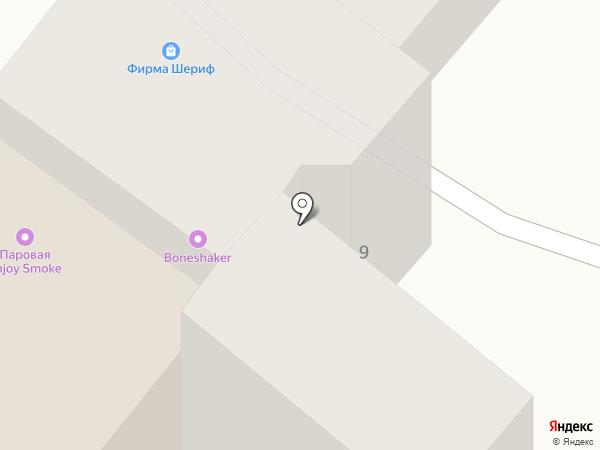 ШЕРИФ на карте Днепропетровска