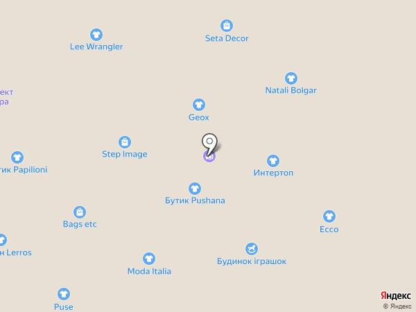 UMAX на карте Днепропетровска