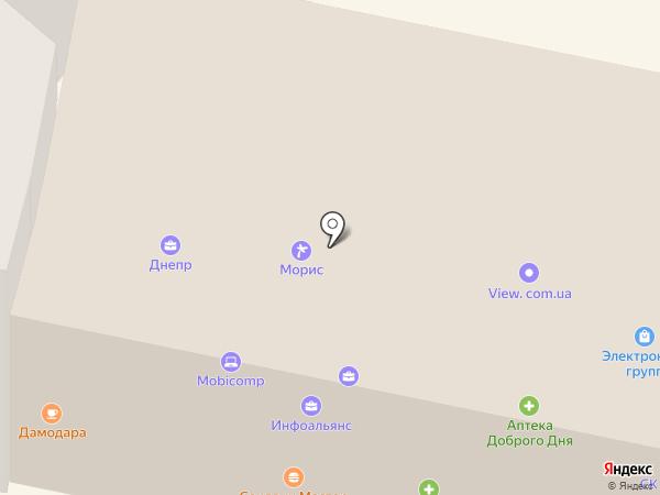 MobiStar на карте Днепропетровска