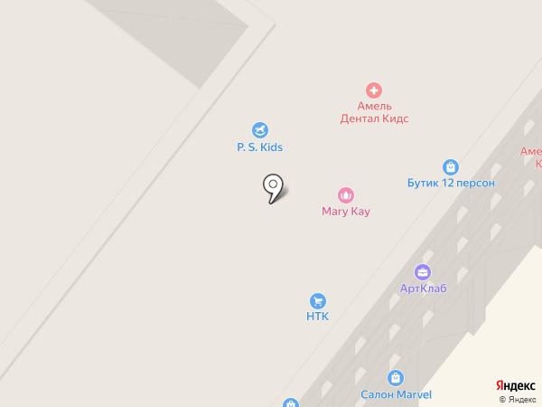 ІТВ на карте Днепропетровска