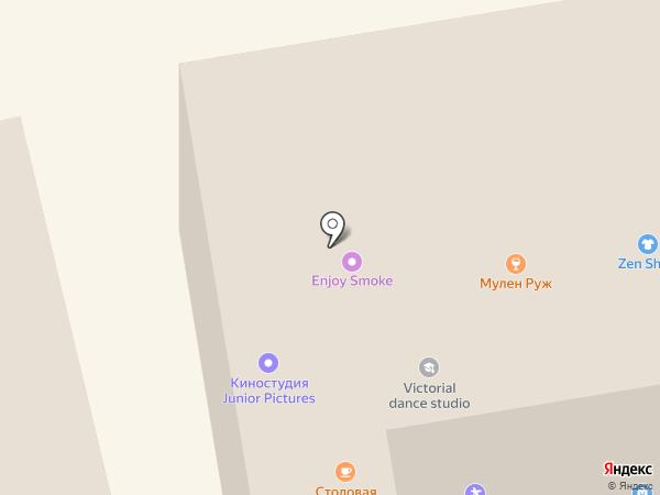 Le Buffet на карте Днепропетровска