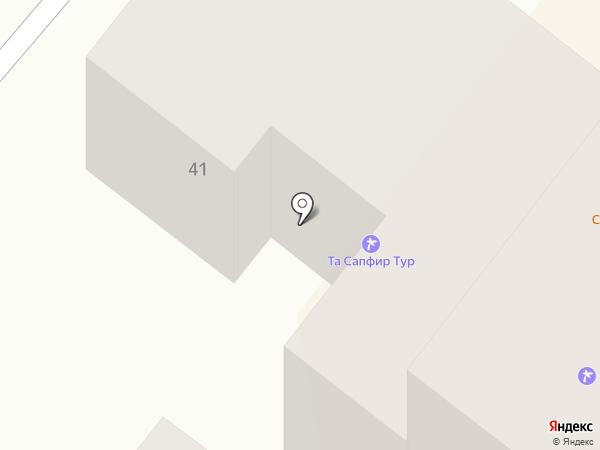 Gambino на карте Днепропетровска
