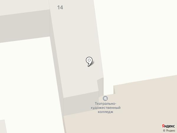Изостудия Михаила Сиверина на карте Днепропетровска