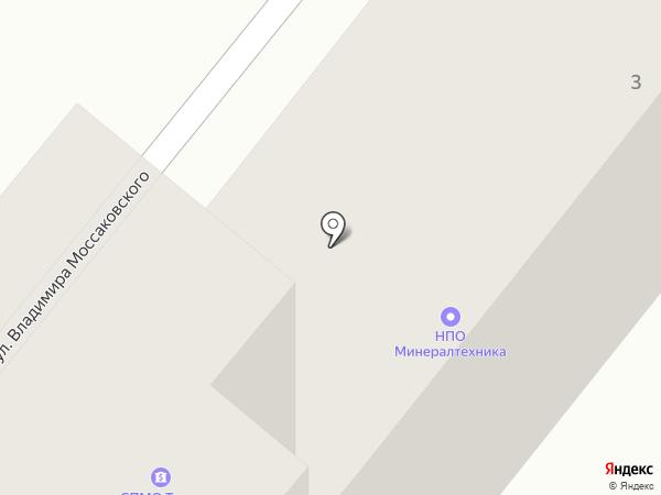 РАТИБОР на карте Днепропетровска