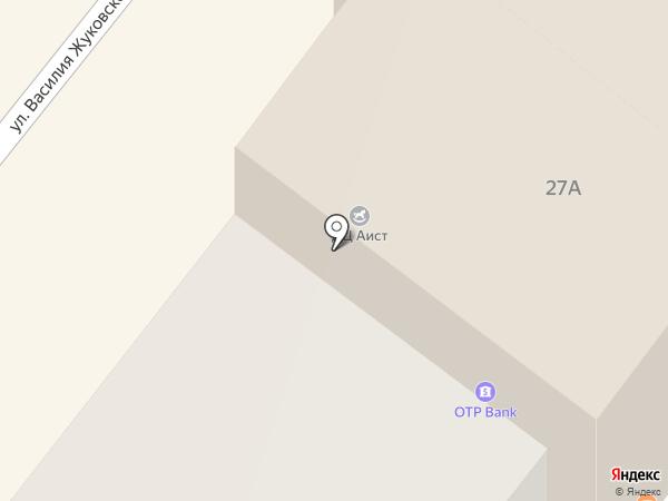 ОТП Банк на карте Днепропетровска