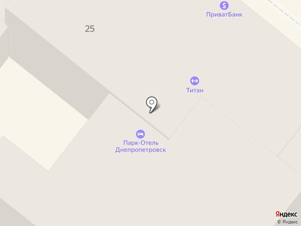 Продмаркет на карте Днепропетровска