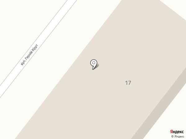 НИПИ САУ на карте Днепропетровска