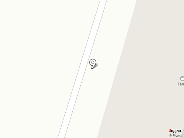 Николь на карте Днепропетровска