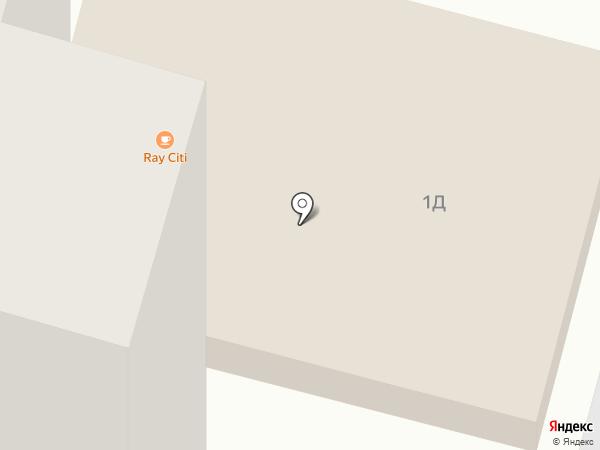 Ray city на карте Днепропетровска