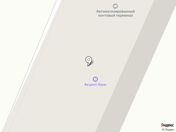 ФИДОБАНК на карте Днепропетровска