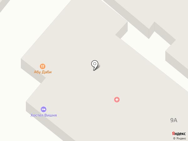 Медицинский кабинет на карте Днепропетровска