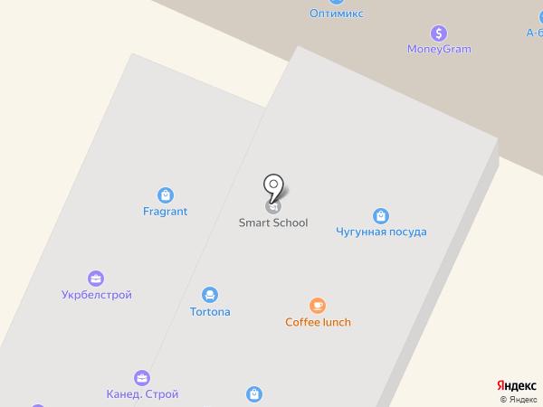 Канед Строй на карте Днепропетровска