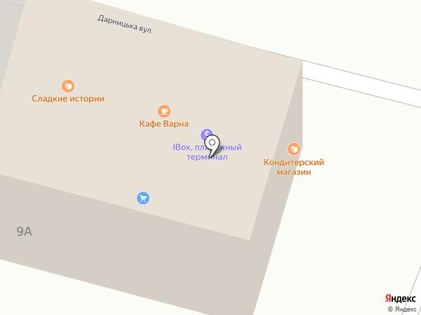 Маска на карте Днепропетровска