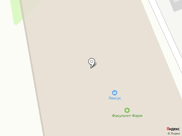 Lexus Днепропетровск центр на карте Днепропетровска