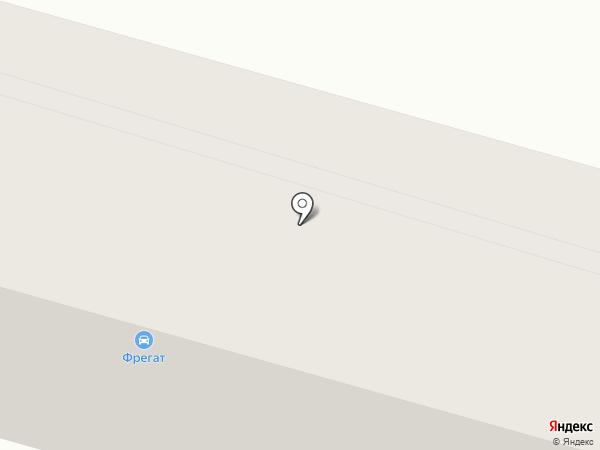 Фрегат на карте Днепропетровска