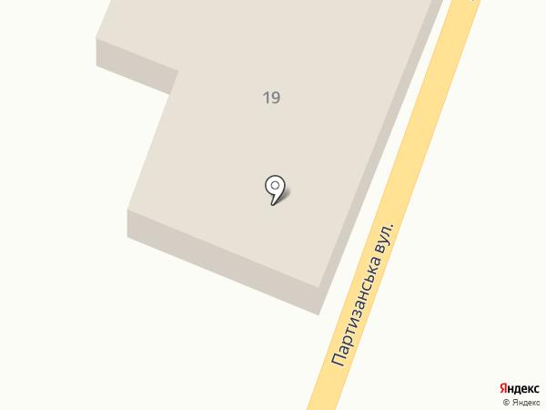 Мясной магазин на карте Подгородного