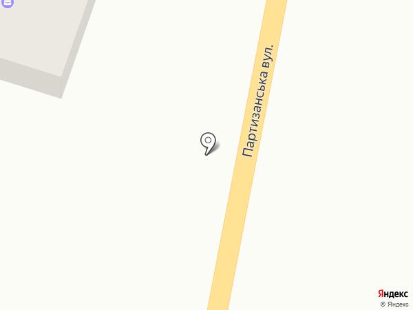 Чиста криниця на карте Подгородного