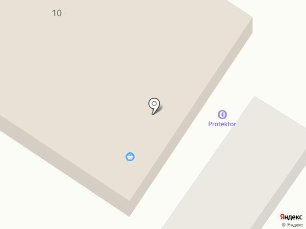 Ермолинские полуфабрикаты на карте Подгородного