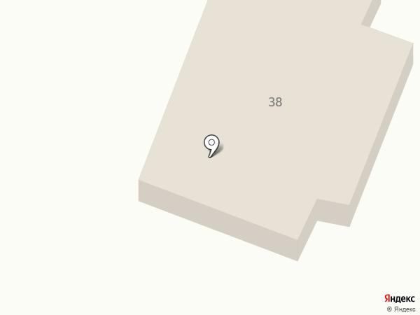 Почтовое отделение №21 пос. Подгородное на карте Подгородного