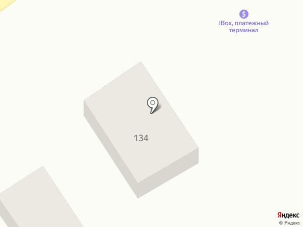 Любава на карте Подгородного