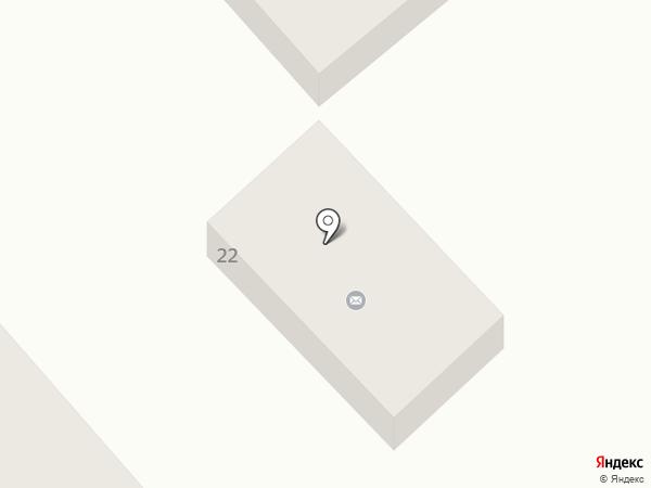 Почтовое отделение №117 на карте Днепропетровска