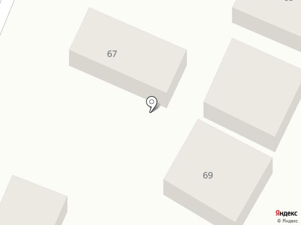 Автохозяин на карте Новомосковска