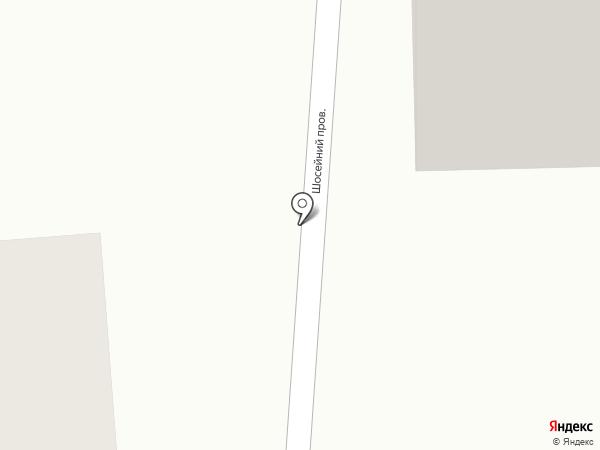 Магазин автозапчастей для Камаз на карте Новомосковска